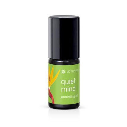 Lotus Wei Quiet Mind Anointing Oil - Bella Cuore