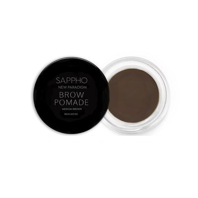 Medium Brown Sappho New Paradigm Brow Pomade - Bella Cuore