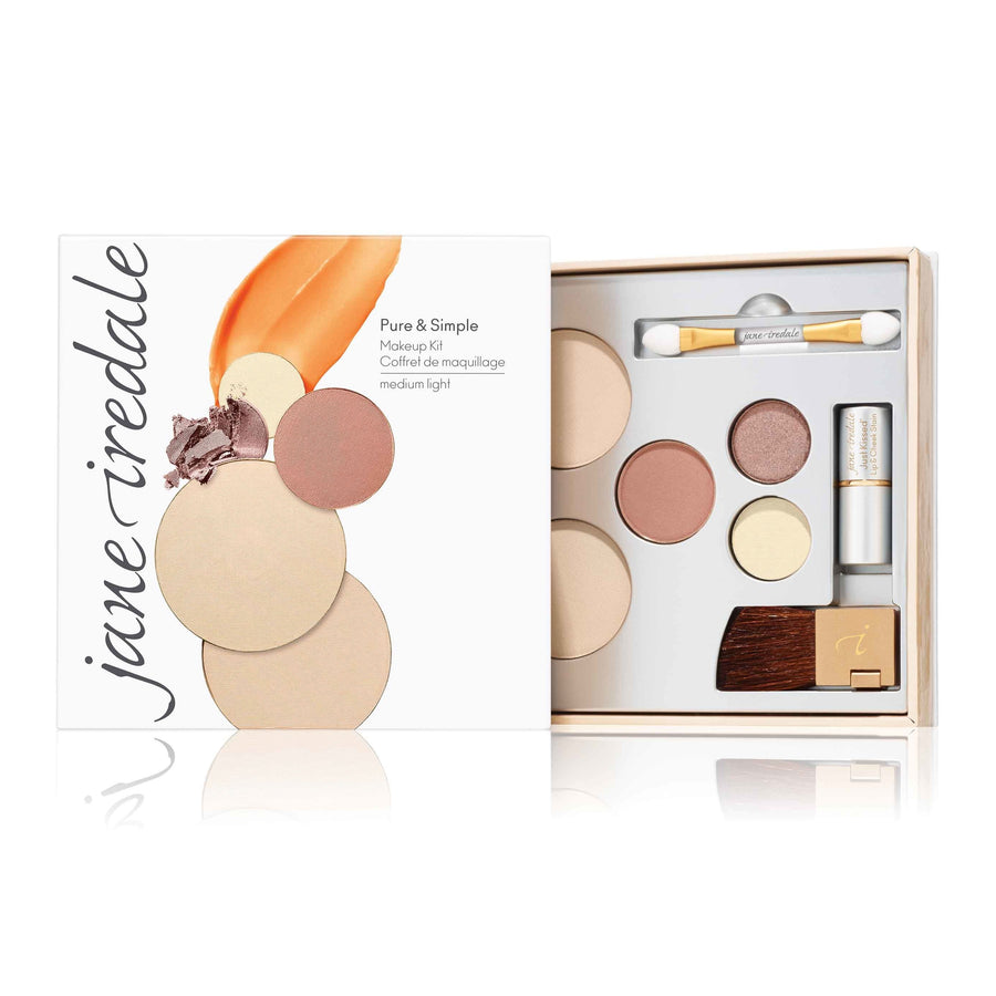 Light Jane Iredale Pure & Simple Makeup Kit - Bella Cuore