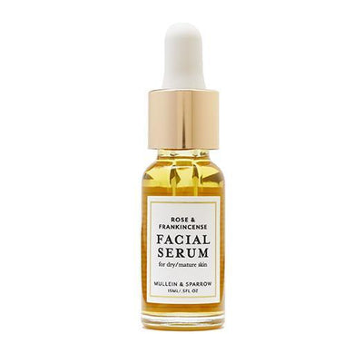Mullein & Sparrow Rose & Frankincense Facial Serum - Bella Cuore