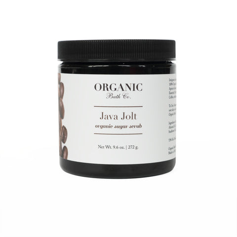 Organic Bath Co Java Jolt Organic Sugar & Coffee Scrub - Bella Cuore