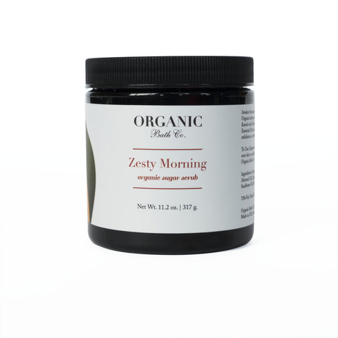 Organic Bath Co Zesty Morning Organic Body Scrub - Bella Cuore