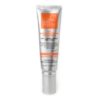 Suntegrity 5 in 1 Natural Moisturizing Face Sunscreen Tinted - Bella Cuore