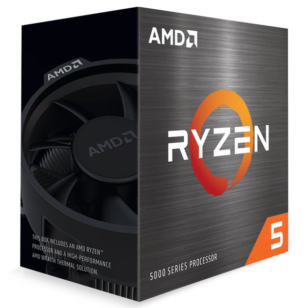 AMD Ryzen 5 5600X CPU, 6 Cores/12 Threads, Up to 4.6GHz