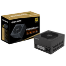Gigabyte P850GM 850W ATX PSU Power Supply 80+ Gold >90% Modular 120mm Fan Black Flat Cables Single +12V Rail Japanese Capacitors >100K Hrs MTBF