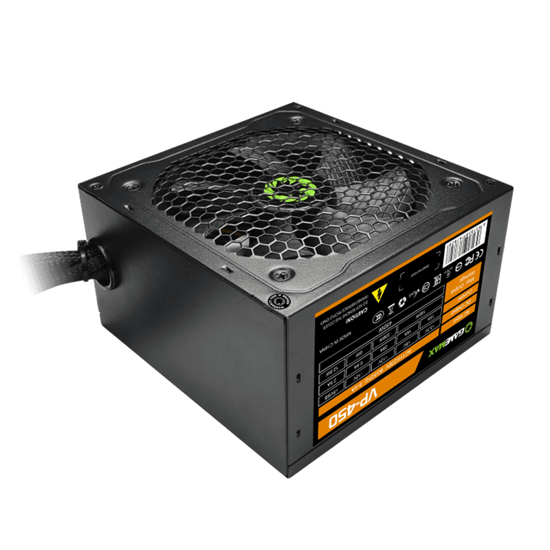 GAMEMAX 450W ATX Power Supply 80+ Bronze