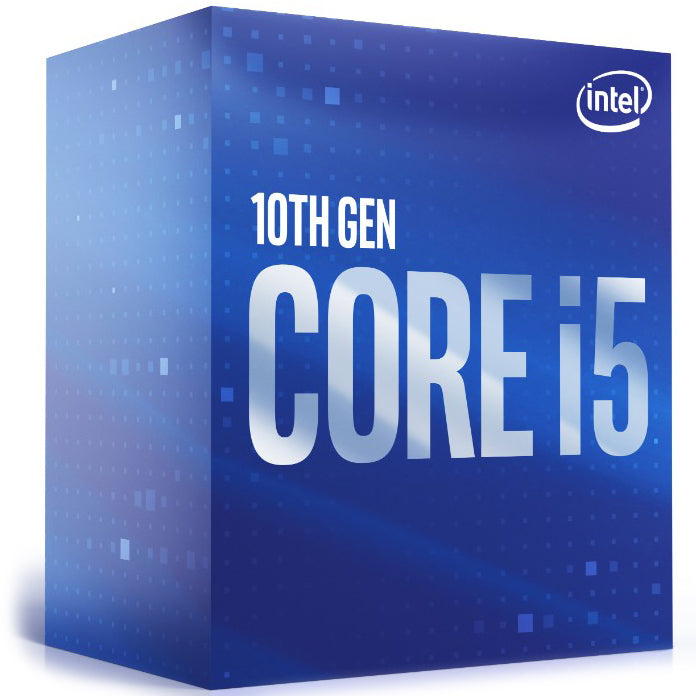 Intel Core i5-10400 CPU 2.9GHz (4.3GHz Turbo) LGA1200 10th Gen 6-Cores 12-Threads 12MB 65W UHD Graphic 630 Retail Box 3yrs Comet Lake