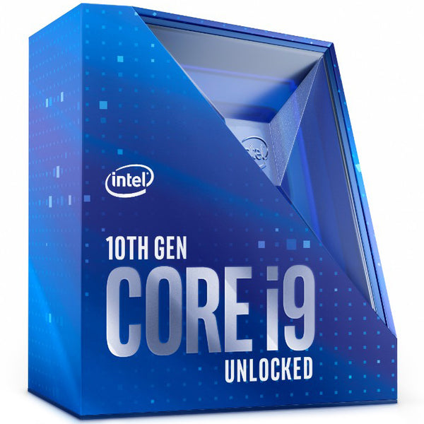 Intel Core i9-10900K CPU 3.7GHz (5.3GHz Turbo) LGA1200 10th Gen 10-Cores 20-Threads 20MB 95W UHD Graphic 630 Retail Box 3yrs Comet Lake