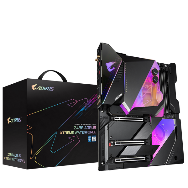 Gigabyte Z490 Aorus Xtreme Waterforce LGA1200 ATX Desktop Motherboard