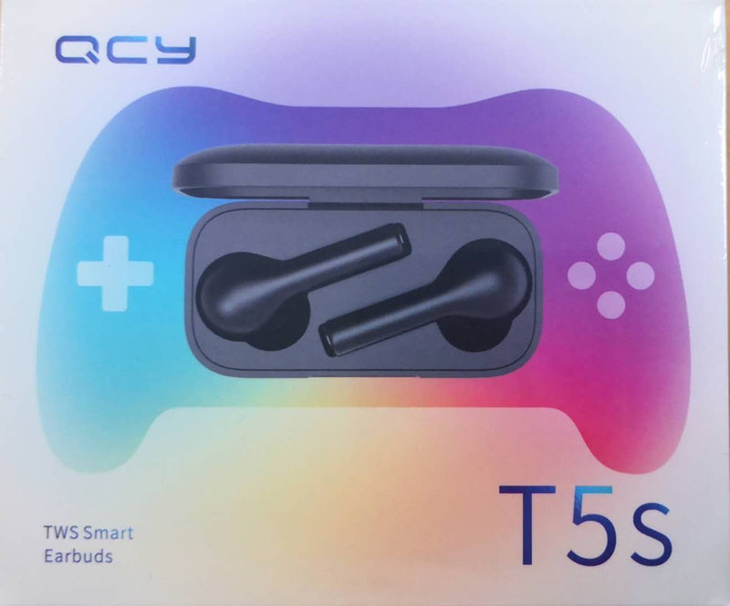QCY T5S TWS bluetooth Earphone Gaming Headphone