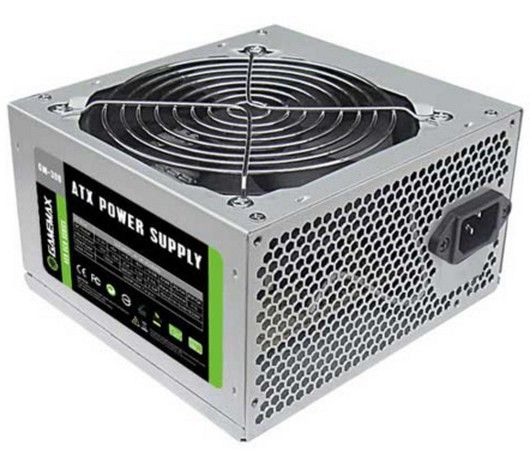 500W GAMEMAX ATX POWER SUPPLY 12CM FAN RETAIL