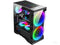 Huntkey GX650P ATX Gaming Case ATX with Tempered Glass & 2 x 20cm RGB Fans