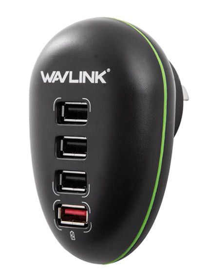 Wavlink 4 Ports USB Wall Charging Station WL-UH1041P
