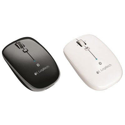 Logitech M557 Bluetooth Mouse Grey/White