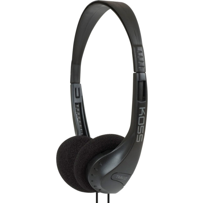 Koss TM-602 On-Ear Headphones - Black