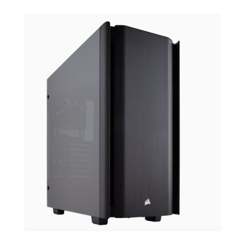 Corsair Obsidian Series 500D Tempered Glass ATX Case. USB 3.1 Type-C x 1, USB 3.1 x 2. 7 Expansion slots, up to 360mm Radiator, 2 Years Warranty