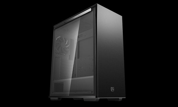 Deepcool MACUBE 310P BK Tempered Glass Case Black USB3.0*2, 7+2 SLOTS,Mini-ITX/mATX/ATX