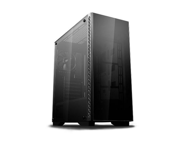 Deepcool MATREXX 50 Minimalistic Mid-Tower Case, Supports E-ATX MB, Full-sized Tempered Glass