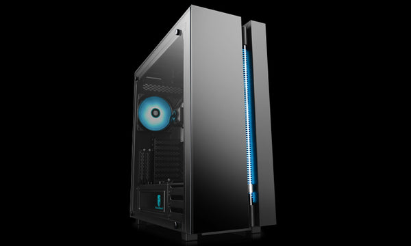 Deepcool Gamerstorm NEW ARK 90MC E-ATX Tower Case With Integrated Liquid Cooling, Aura Sync, RGB Fusion, Mystic Light