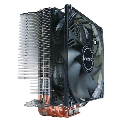 Antec C400 Air CPU Cooler 120mm Blue LED 77 CFM, Intel 775, 115X, 1366, 2011, 2066, AMD: AM2, AM2+, AM3, AM3+, FM1, FM2, FM2+ 3 Years Warranty (LS)
