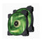Corsair SP 140mm Fan with Green LED High Pressure Twin Pack! (LS)