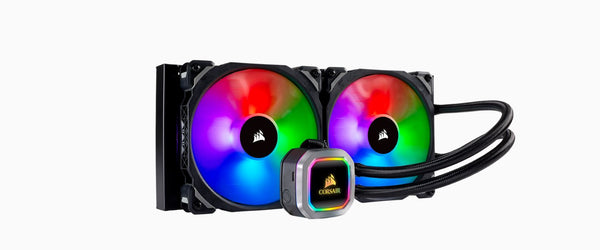 Corsair Hydro Series H115i 280mm RGB PLATINUM Liquid CPU Cooler. 5 Years Warranty (LS)
