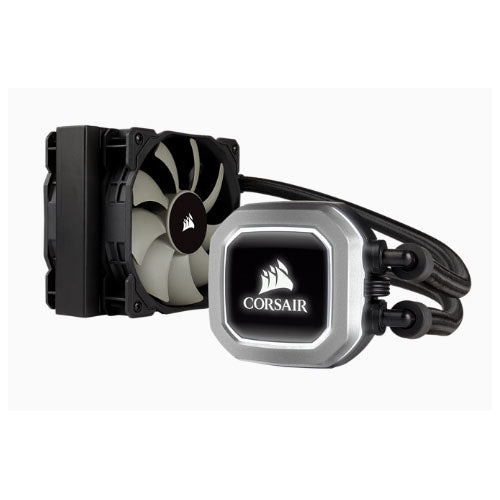 Corsair H75v2 120mm High Performance Liquid CPU Cooler 2x SP PWM 12CM Fan. 5 Years Warranty