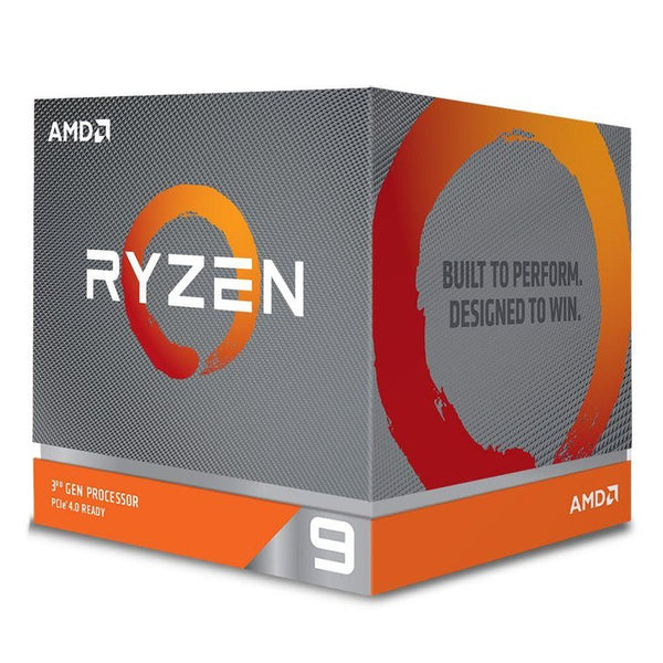AMD Ryzen 9 3900X, 12 Core AM4 CPU, 3.8GHz 4MB 105W w/Wraith Prism Cooler Fan