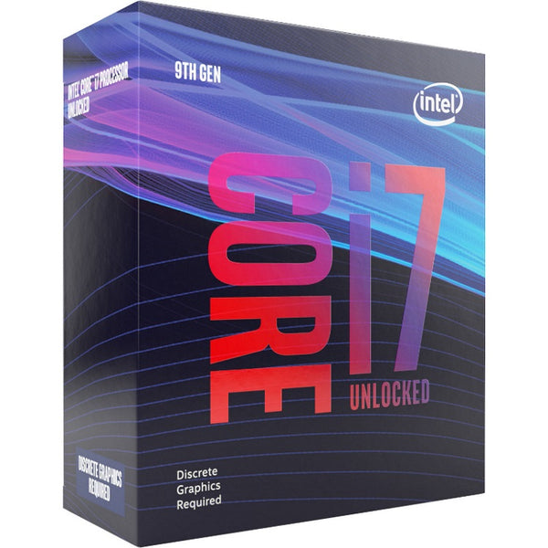 Intel Core i7-9700KF 3.7Ghz No Fan Unlocked s1151 Coffee Lake 9th Generation Boxed 3 Years Warranty - Dedicated Graphics is required