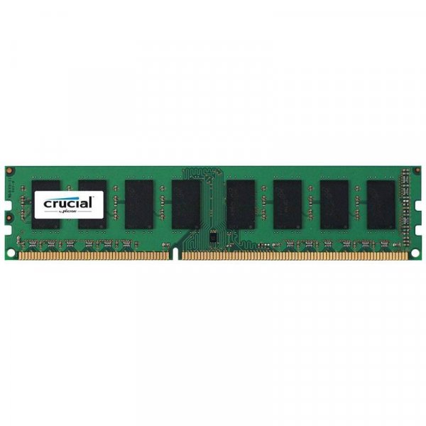 Crucial 8GB (1x8GB) DDR3L UDIMM 1600MHz CL11 Voltage 1.35V Single Stick Desktop PC Memory RAM