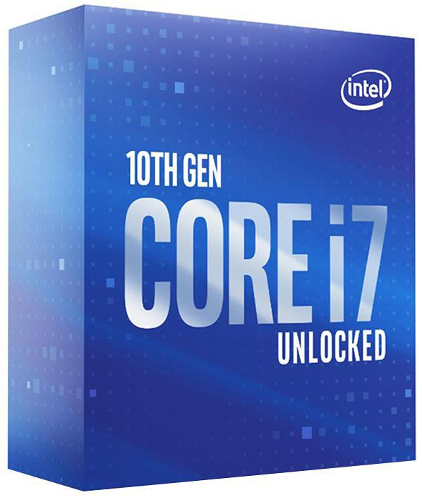 Intel Core i7-10700 CPU 2.9GHz (4.8GHz Turbo) LGA1200 10th Gen 8-Cores 16-Threads 16MB 65W UHD Graphic 630 Retail Box 3yrs Comet Lake