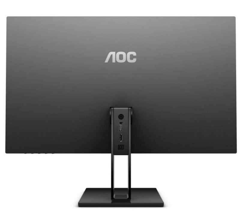 "AOC 27"" 27V2Q/75 IPS 5ms Full HD Zero Edge Ultra Slim FreeSync Monitor - DP1.2/HDMI1.4 Tilt Low Blue Mode Flicker Free"