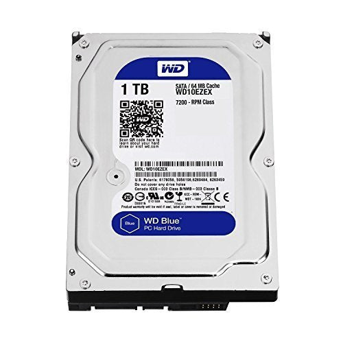WD Blue 1TB SATA3 64MB 3.5' 7200RPM 6Gb/s 64MB Cache HDD