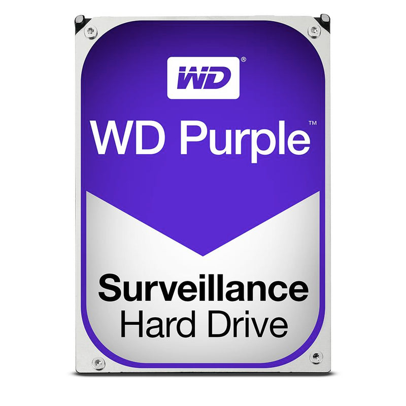 WD Purple 2TB Surveillance 3.5' IntelliPower SATA3 6Gb/s 64MB 5400 RPM Hard Drive