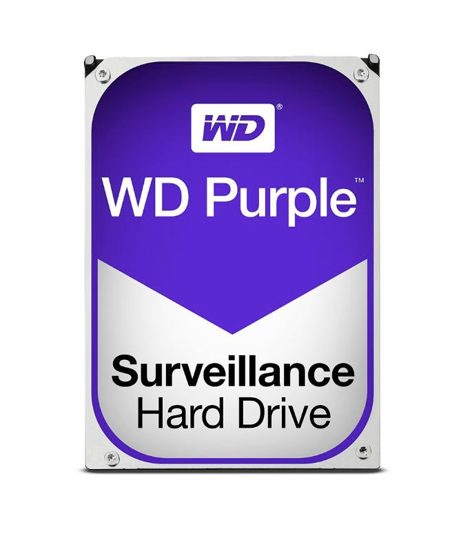 WD Purple 3TB Surveillance 3.5' IntelliPower SATA3 6Gb/s 64MB Cache (WD30PURZ)