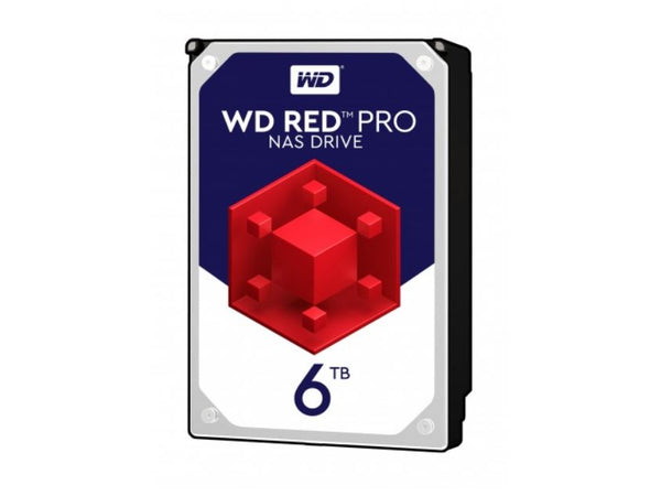 WD Red 6TB PRO NAS 3.5' 7200RPM SATA3 6Gb/s 256MB Cache. 5 Years Warranty