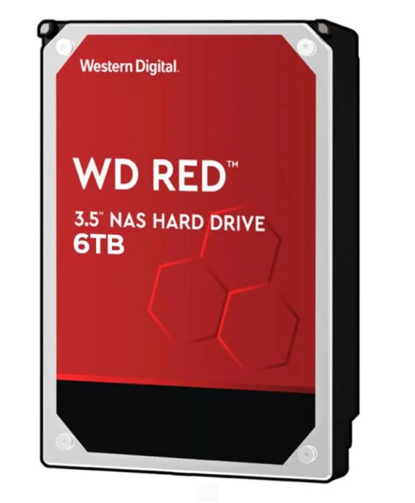 WD Red 6TB NAS 3.5' 5400RPM SATA3 6Gb/s 64MB Cache WD60EFAX