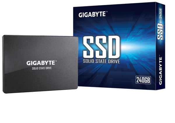 Gigabyte SSD 240GB 2.5' SATA3 500/420 MB/s 50K/75K 2240 100mm 2M hrs MTBF HMB TRIM & SMART Solid State Drive 3yrs Wty