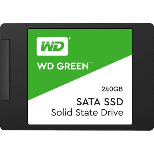 Western Digital Green 240GB 2.5' 3D NAND SSD 7MM, 540/430 R/W, SATA 6GB. 3 Years Warranty