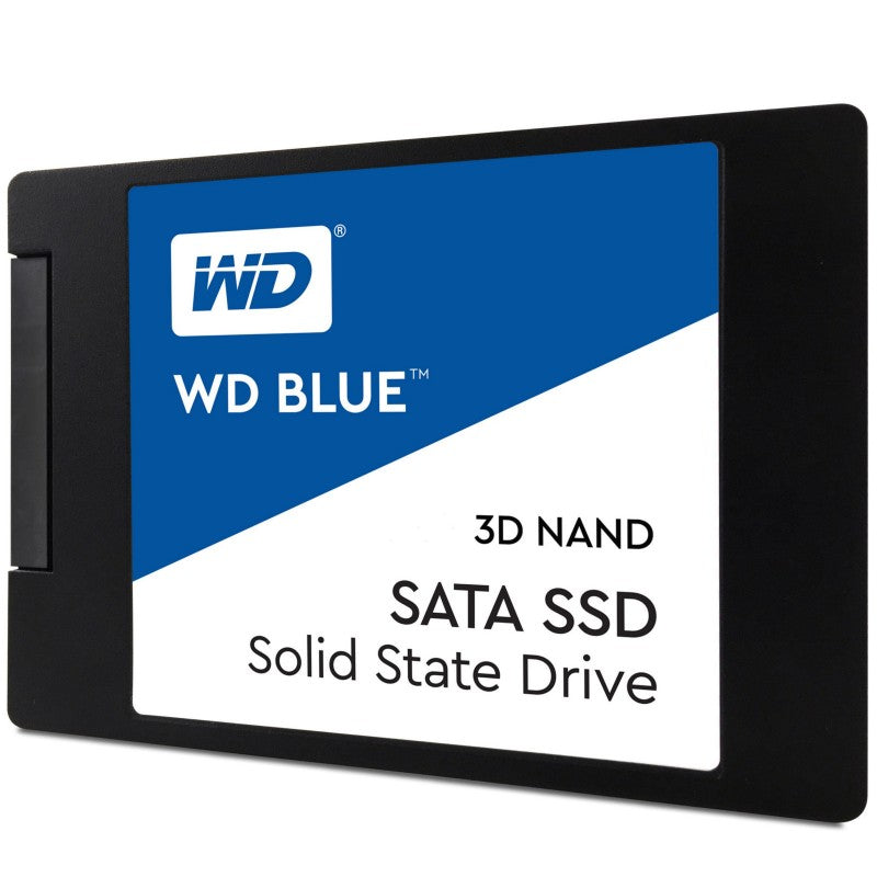 Western Digital Blue 500GB 2.5' 3D NAND SSD 7MM 550/530 R/W, SATA 6GB. 5 Years Warranty