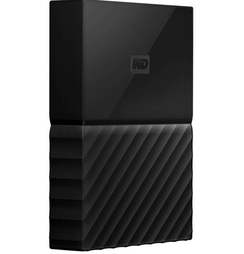WD My Passport Portable 4TB Black 2.5' USB3.0. Built-in 256-bit AES Hardware Encryption - WDBYFT0040BBK-WESN