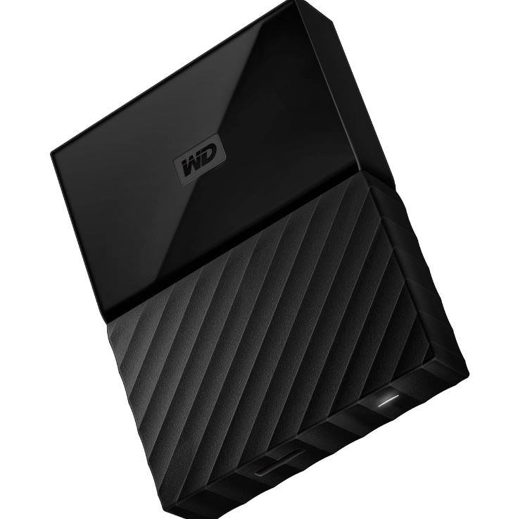 WD My Passport Portable 2TB Black 2.5' Portable USB3.0. Built-in 256-bit AES Hardware Encryption (WDBS4B0020BBK-WESN) (LS)