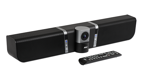 Aver VB342+ Video Soundbar All-in-one USB 4K UHD Huddle Room Conference camera (4K, USB, HDMI, 120FOV PTZ 180pan 105tilt, 4x Digital Zoom, RS232)