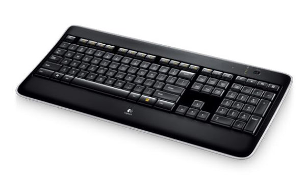 Logitech K800 Wireless Keyboard Adjustable Backlit Illumminum Hand Proximity Detection PerfectStroke key system 3yr wty