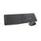 Logitech MK235 Wireless Keyboard and Mouse Combo 2.4GHz Wireless Compact Long Battery Life 8 Shortcut keys