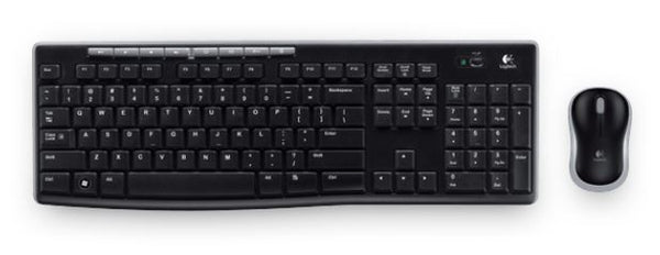 Logitech MK270R Wireless Keyboard and Mouse Combo 2.4GHz Wireless Compact Long Battery Life 8 Shortcut keys ~KBLT-MK235