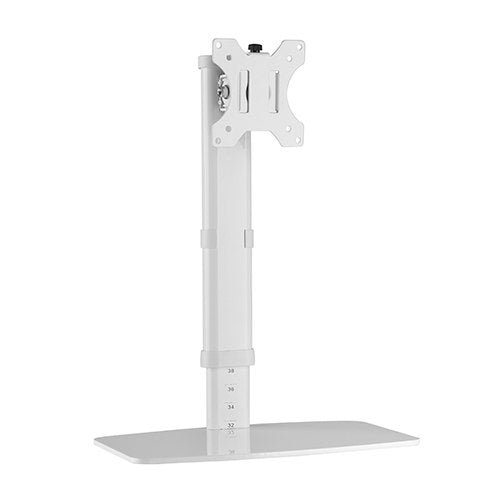 Brateck Single Monitor Freestanding Monitor Desk Stand for 17'-27' LCD Monitors and Screens