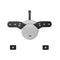 Brateck Wall Mount Bracket for OLED 23'-55' up to 40kg(LS)