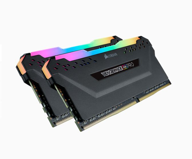 Corsair Vengeance RGB PRO 16GB (2x8GB) DDR4 3600MHz C18 Desktop Gaming Memory