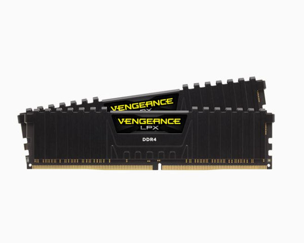 Corsair Vengeance LPX 64GB (2x32GB) DDR4 3000MHz C16 15-15-15-36 1.2V XMP 2.0 Black Desktop Gaming Memory